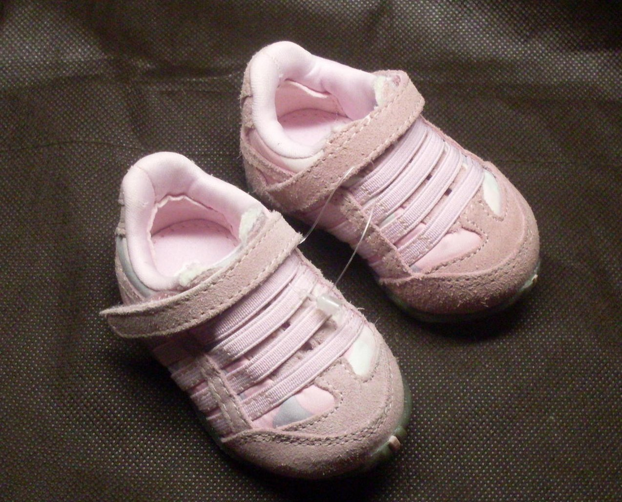 '.Baby Girl Sneakers Pink Size 1.'