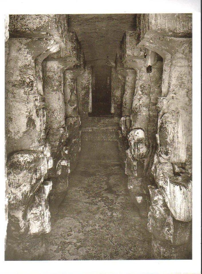 Interior of the Great Temple at Abu Simbel Postcard