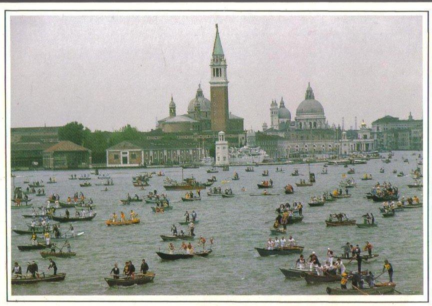 Venizia, Venice, Italy Postcard