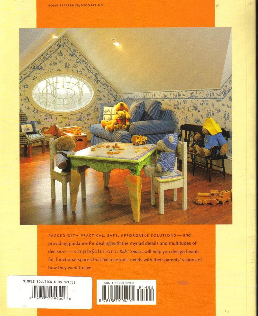 '.Kids Spaces Decorators book.'