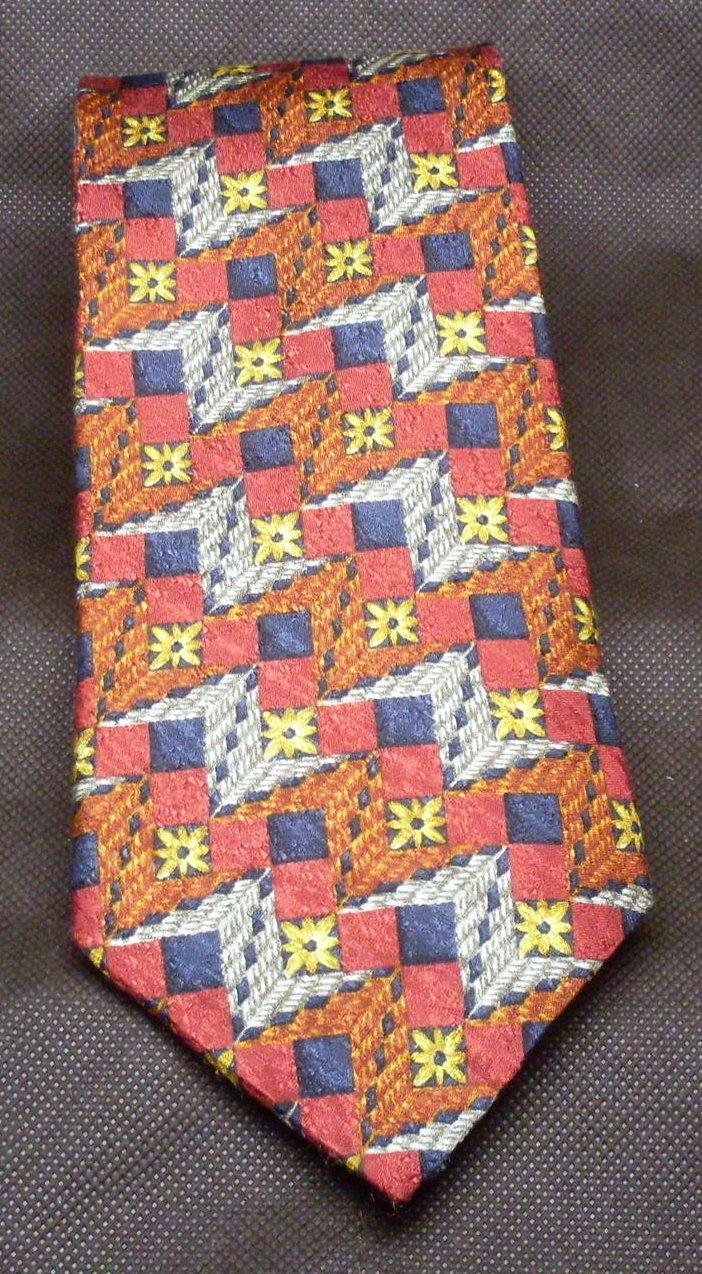'.Zegna Necktie Vintage Print.'