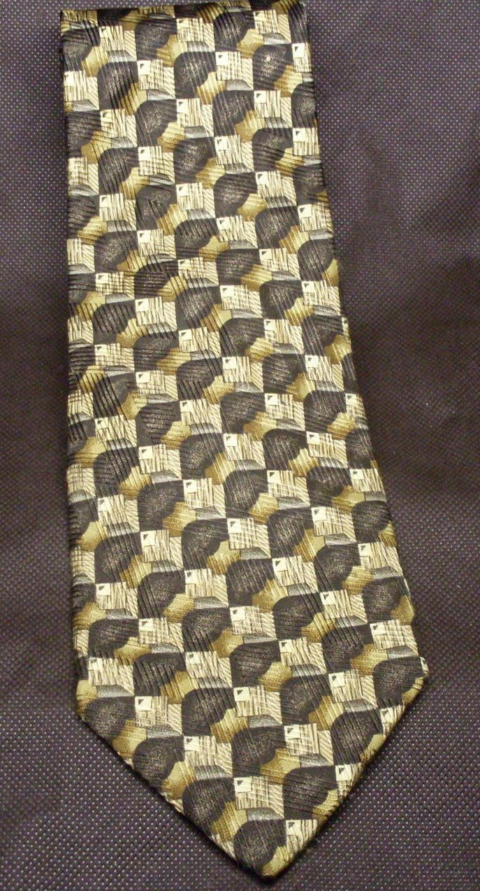 Robert Talbott Studio Mens Silk Tie Necktie Brown