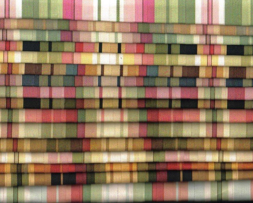 Image 1 of Mill Creek Fabrics Striped Fabrics 16 lg pcs Various Shades