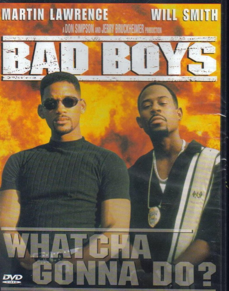 Bad Boys Martin Lawrence Will Smith DVD Special Edition 1995