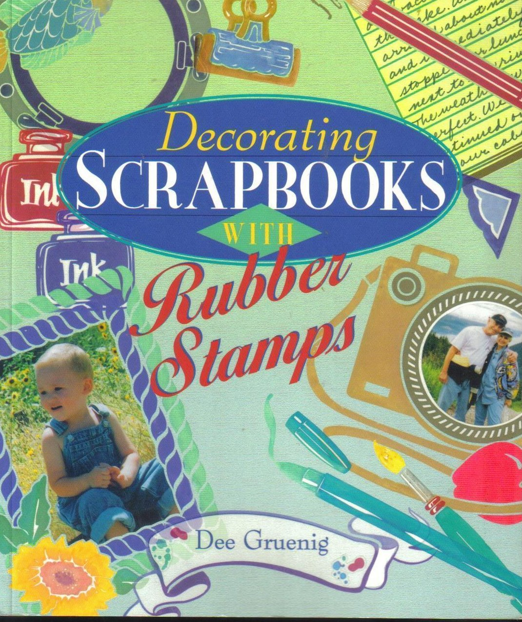 Decorating Scrapbooks With Rubber Stamps, Dee Gruenig Crafts