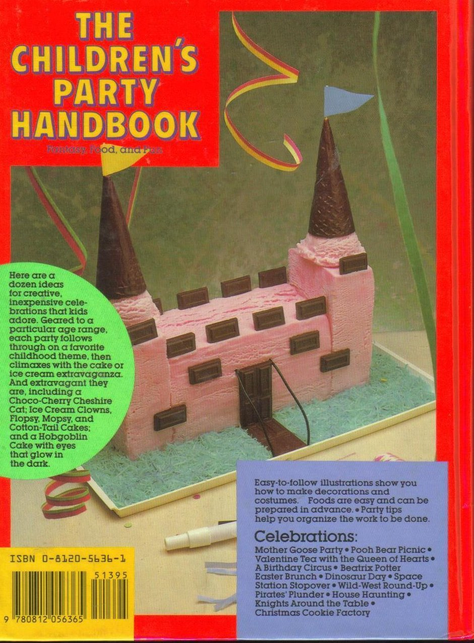 Image 1 of The Childrens Party Handbook Fantasy Food and Fun HC