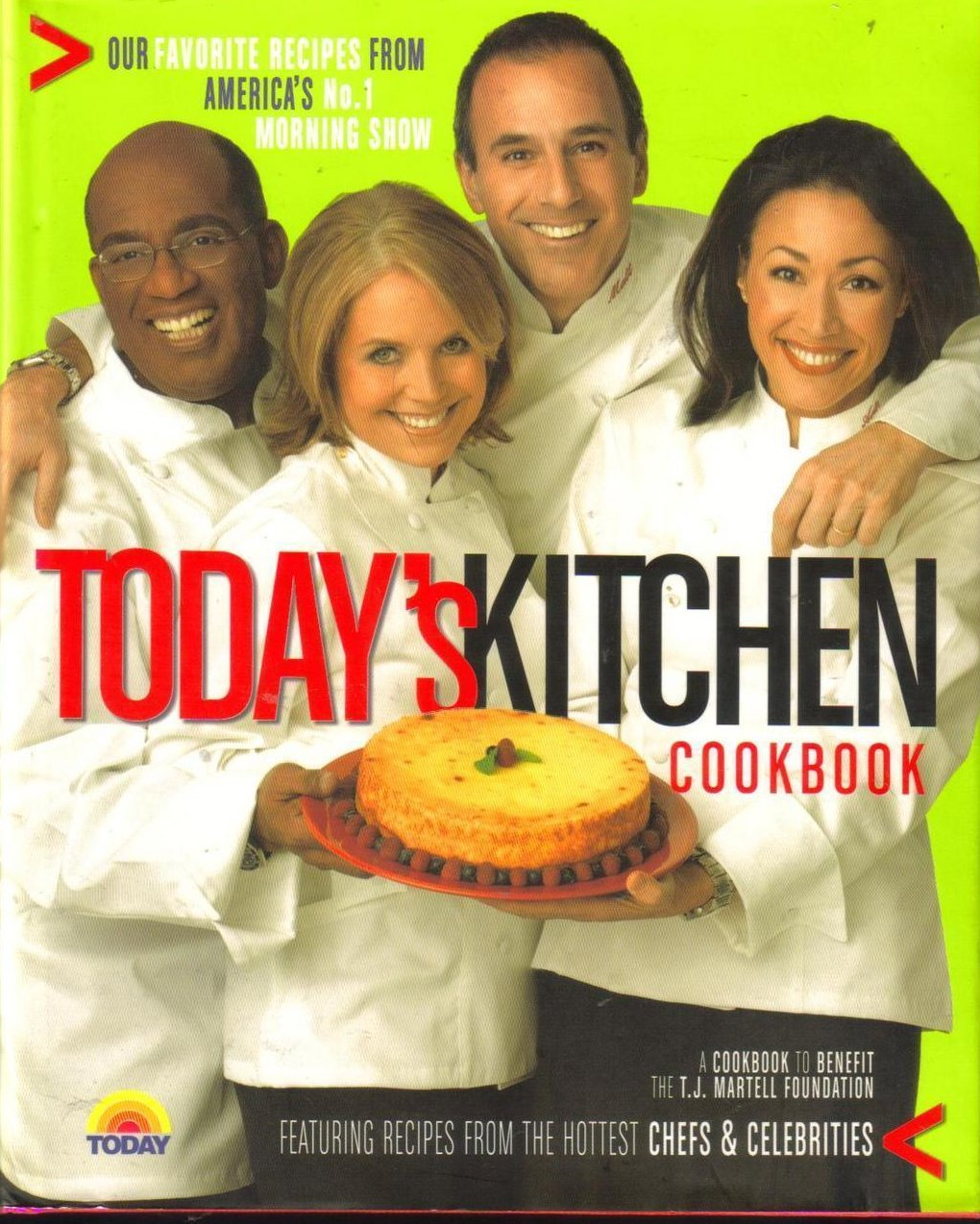 Cookbook Todays Kitchen Morning Show Today HCDJ