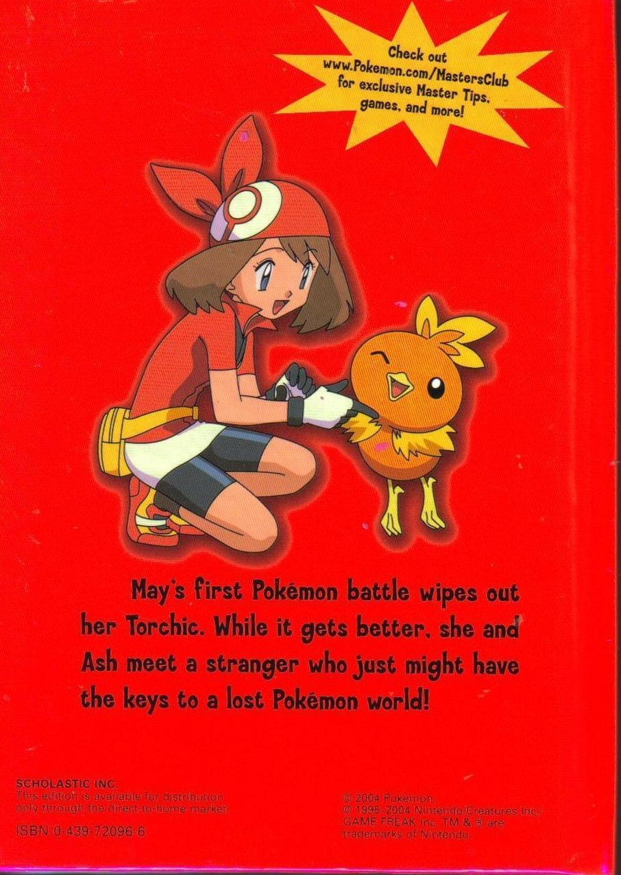Image 1 of Pokemon Time Out for Torchic Hardcover Childrens Book