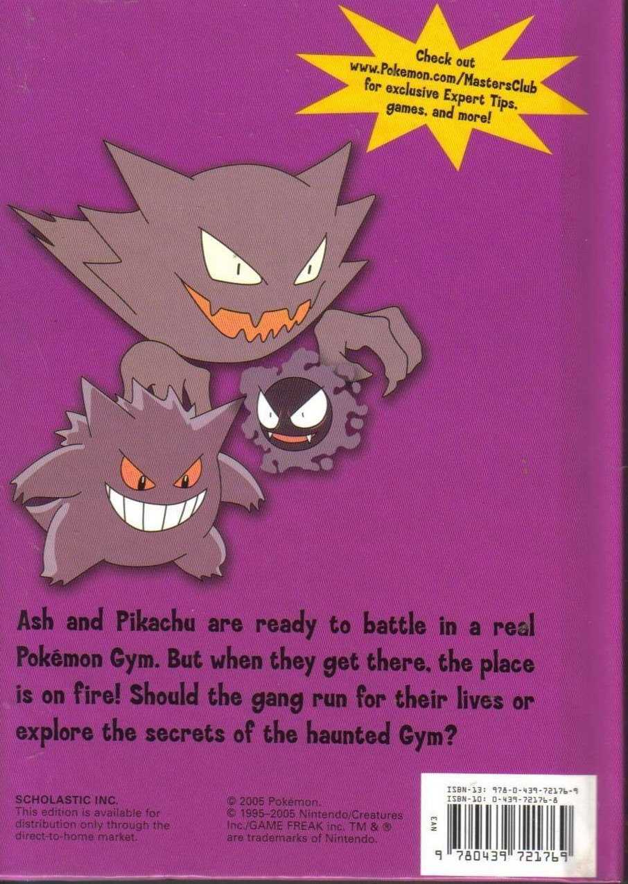 Image 1 of Pokemon The Haunted Gym Hardcover Childrens Book