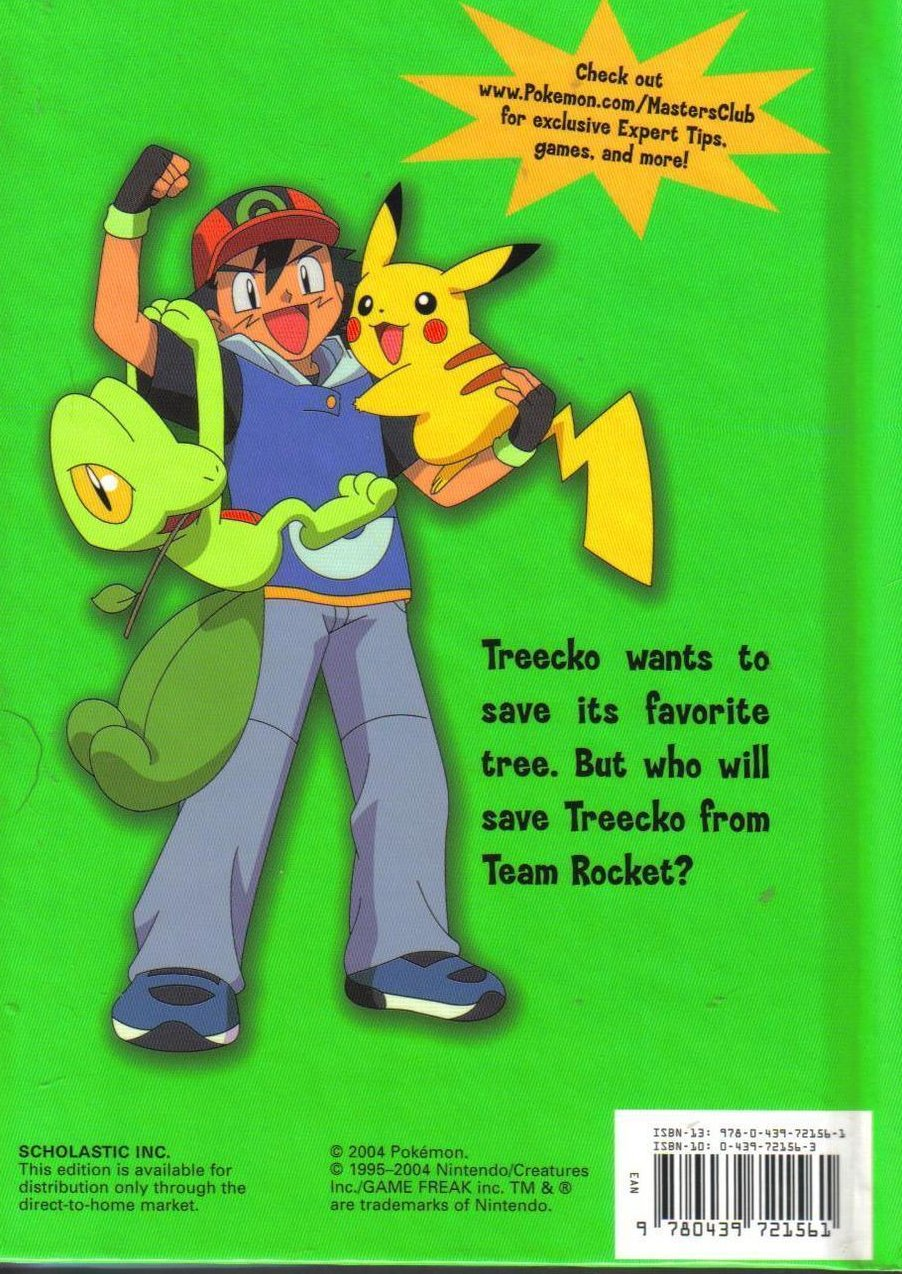 Image 1 of Pokemon Trees a Crowd Hardcover Childrens Book