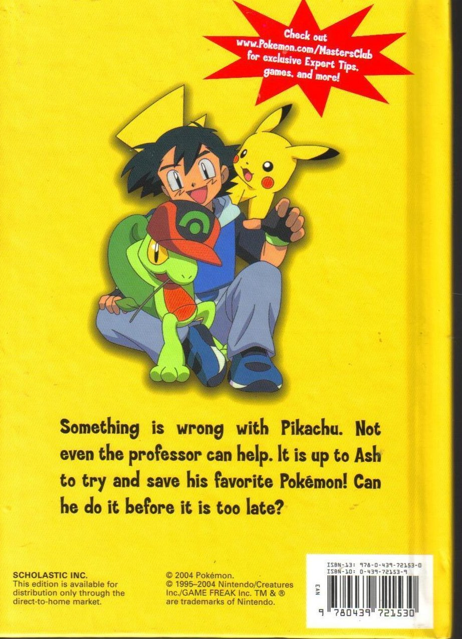 Image 1 of Pokemon Get Well Pikachu Hardcover Childrens Book