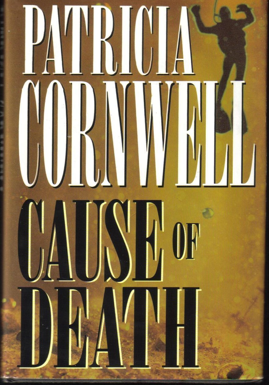 Cause of Death Patricia Cornwell Hardcover Book Fiction