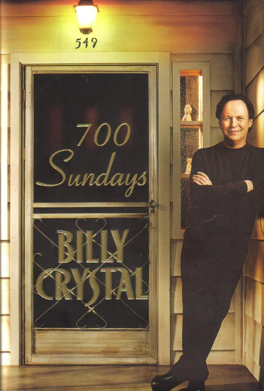 700 Sundays Billy Crystal Hardcover Autobiography
