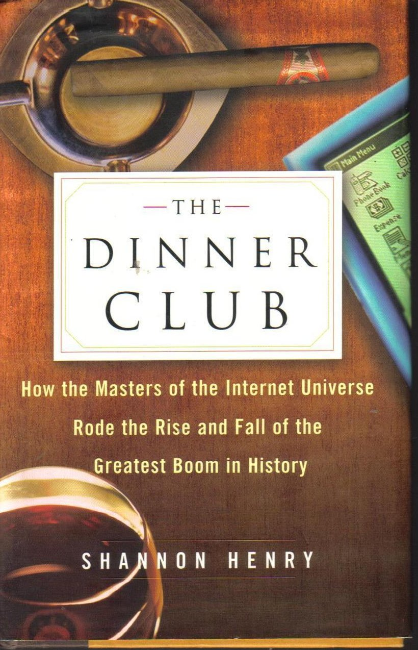 Image 0 of The Dinner Club Shannon Henry Hard Cover DJ