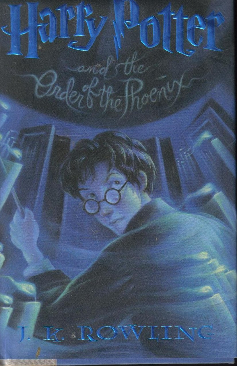 Harry Potter Order of the Phoenix by J.K. Rowling HCDJ