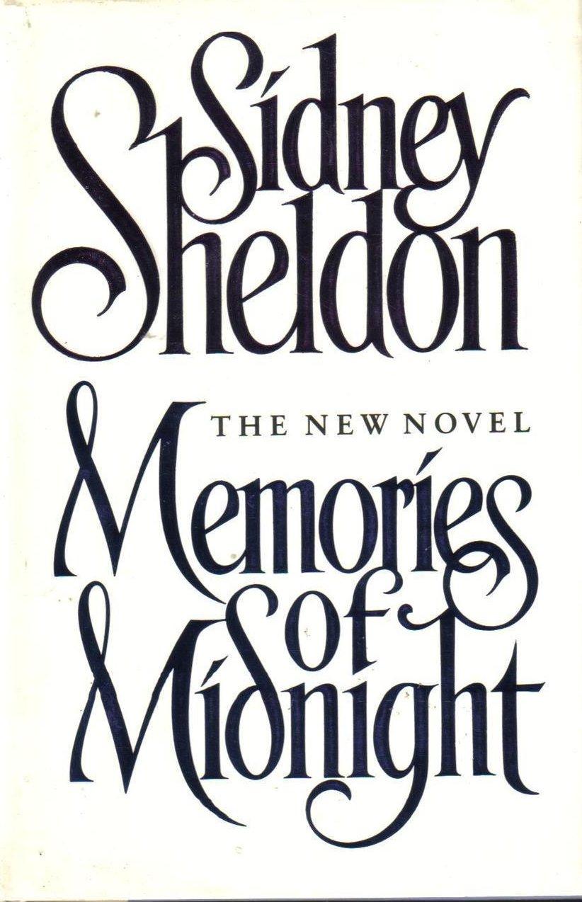 Memories of Midnight Sidney Sheldon  HCDJ First Edition