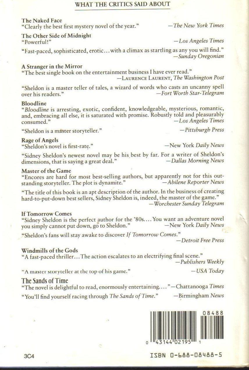 Image 1 of Memories of Midnight Sidney Sheldon  HCDJ First Edition