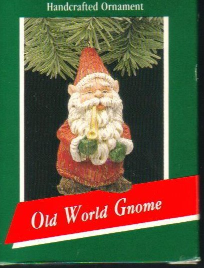 Hallmark Keepsake Ornament 1989 Old World Gnome Vintage