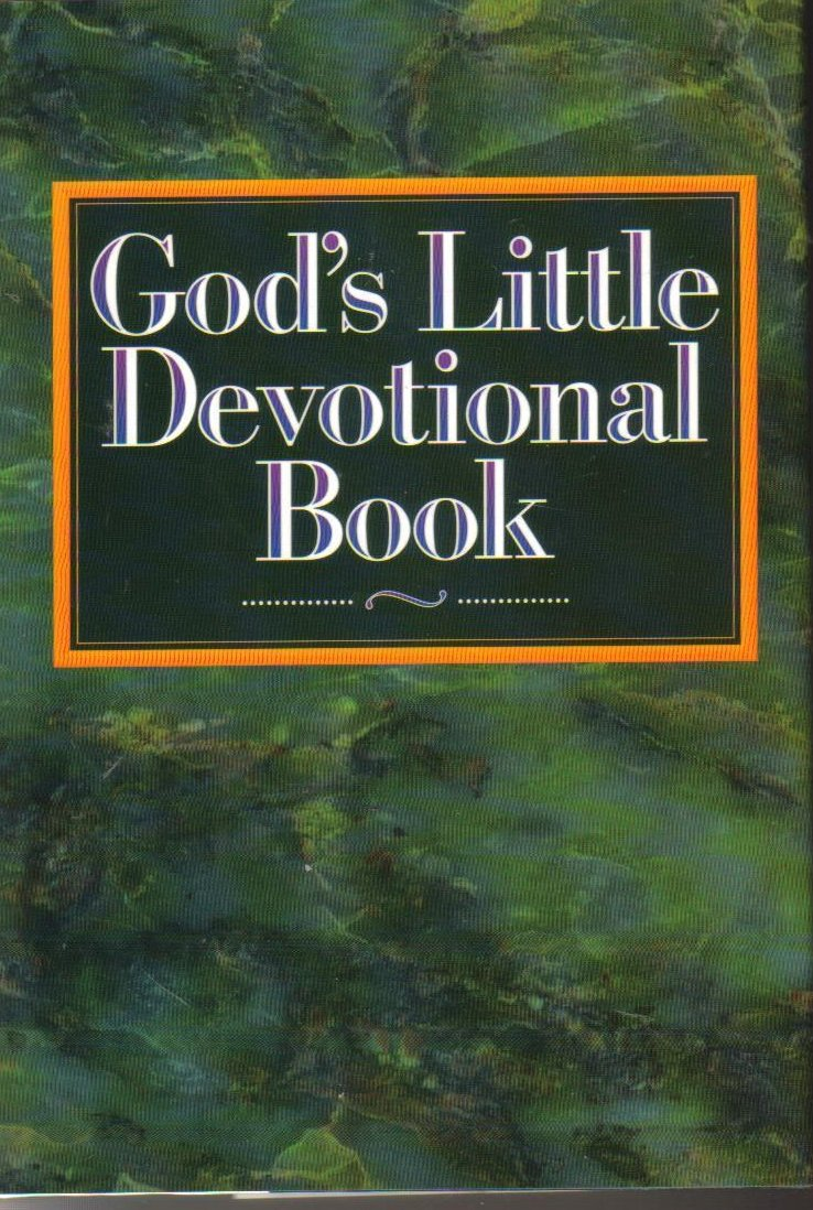 God's Little Devotional Book by Honor Book HCDJ