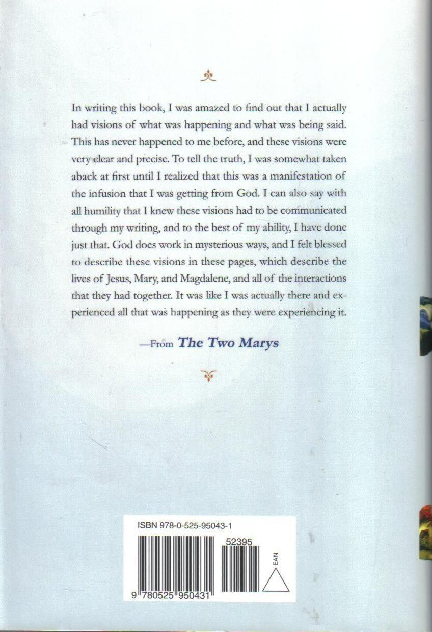 Image 1 of The Two Marys Mother and Wife of Jesus by Sylvia Browne HCDJ