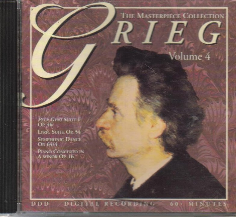 Edvard Grieg The Masterpiece Collection Classical Cd