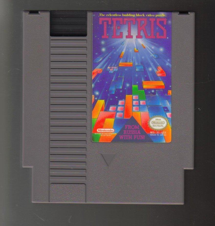 Nintendo NES Game Tetris