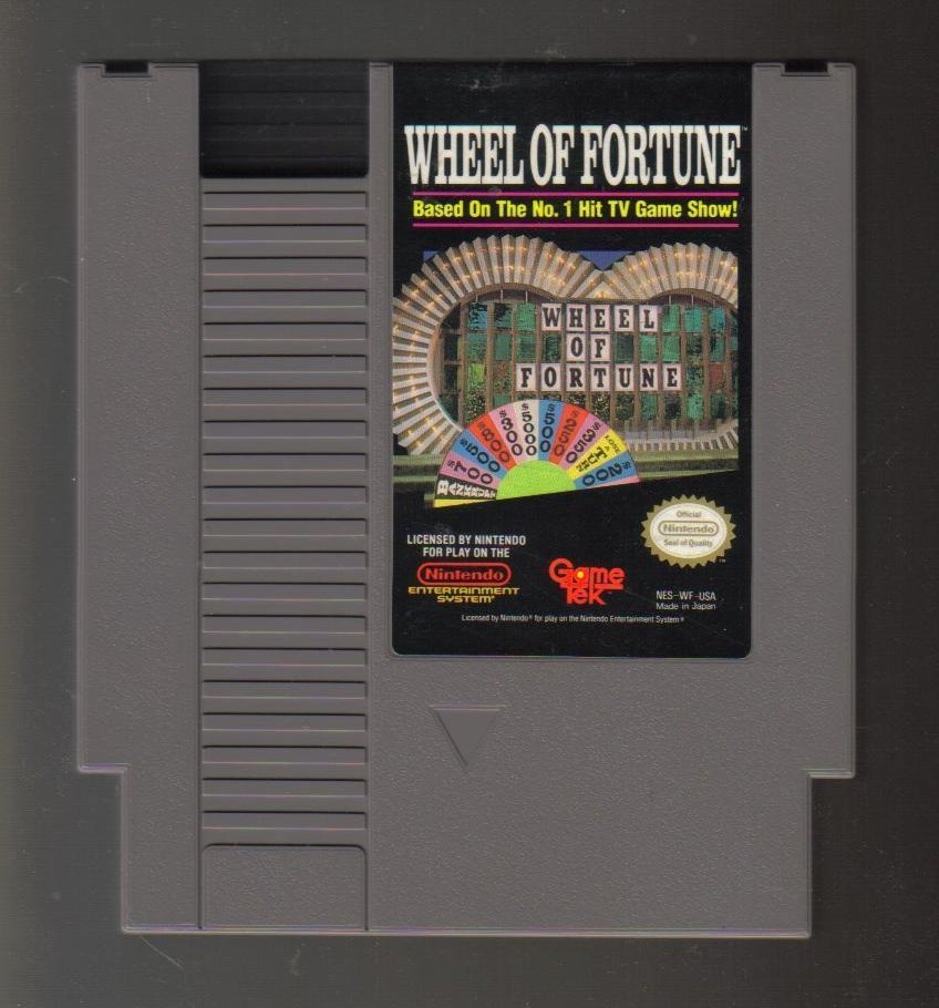 Image 0 of Nintendo NES Game Wheel of Fortune