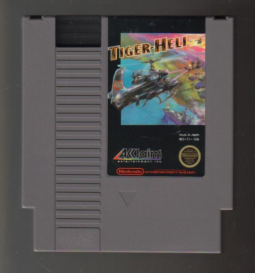 Image 0 of Nintendo NES Game Tiger-Heli