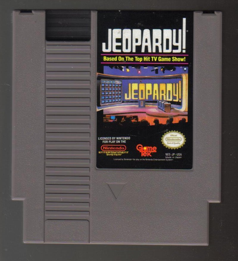 Image 0 of Nintendo NES Game Jeopardy!   Top Hit TV Game Show!