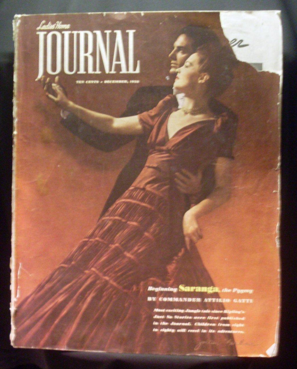 Ladies Home Journal Vintage Magazine December 1938