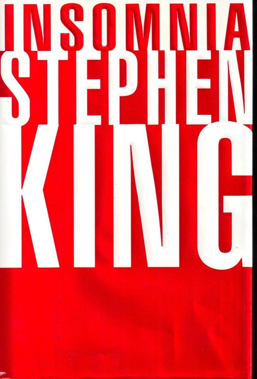 Insomnia Stephen King Large HCDJ