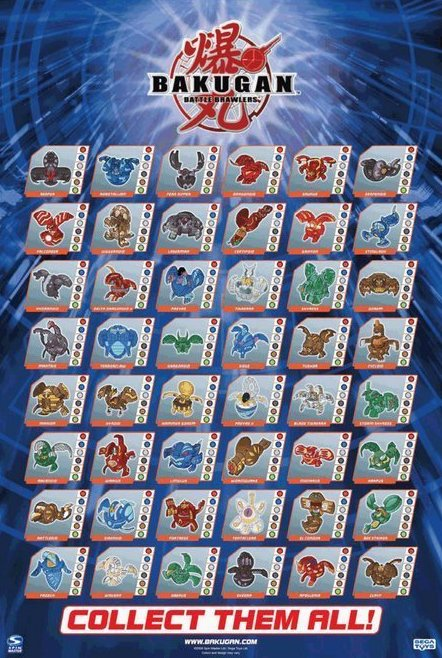 Image 1 of Bakugan How Do You Roll  Poster 24 x 36
