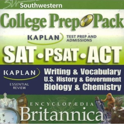 Encyclopedia Britannica College Prep Pack SAT, PSAT, ACT CD