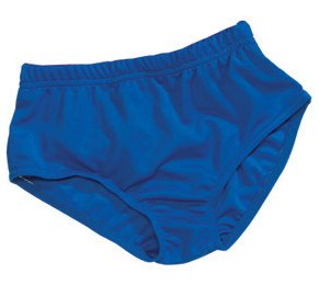 Alleson Cheer Brief Athletic C300Y Youth Girls Blue Small 22