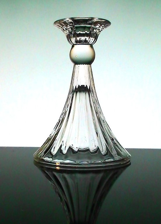 Image 2 of Partylite Elegant Crystal Candle Ball or Candlestick Holder