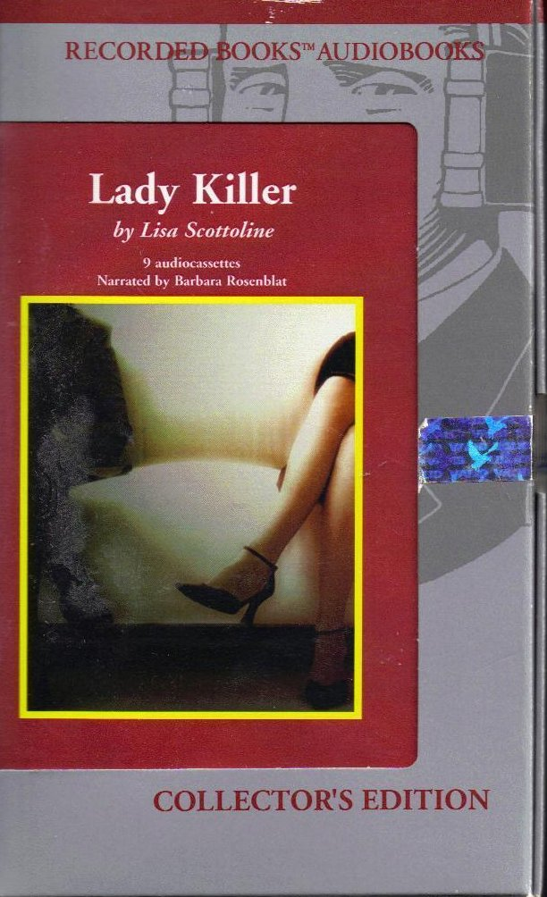 Lady Killer by Lisa Scottoline Unabridged Audio Book