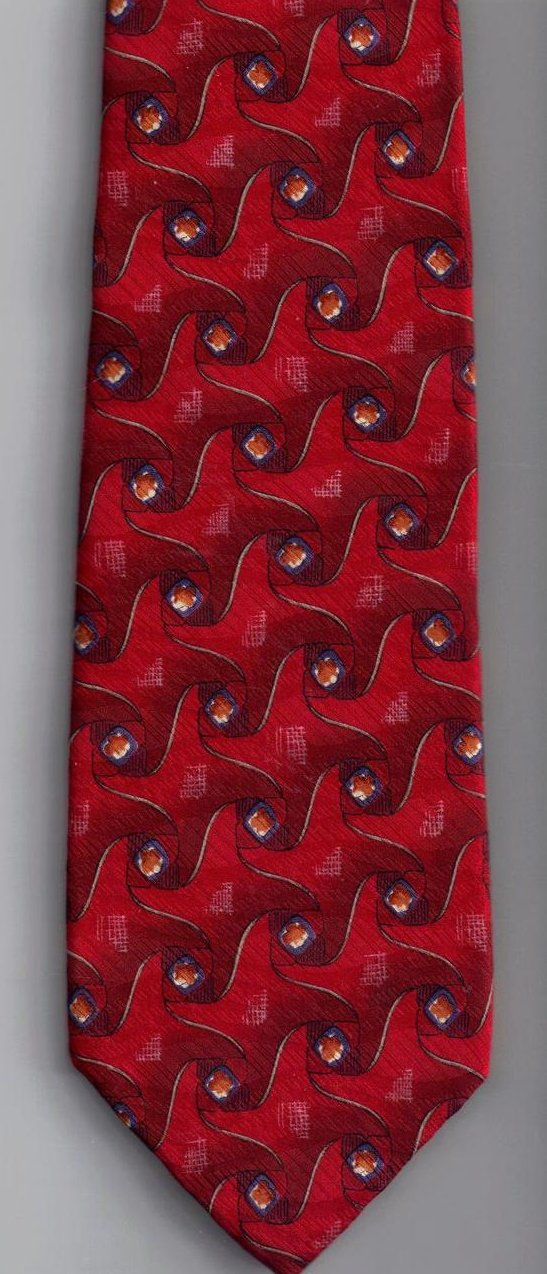 '.Robert Talbott Necktie Red.'