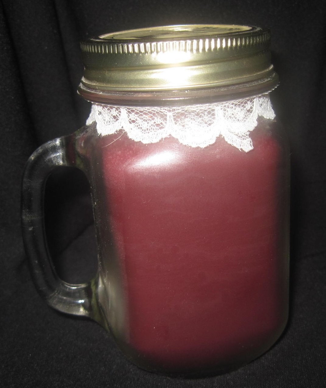 Image 1 of Carolina Lights Cranberry Jar Candle 12 oz Charleston