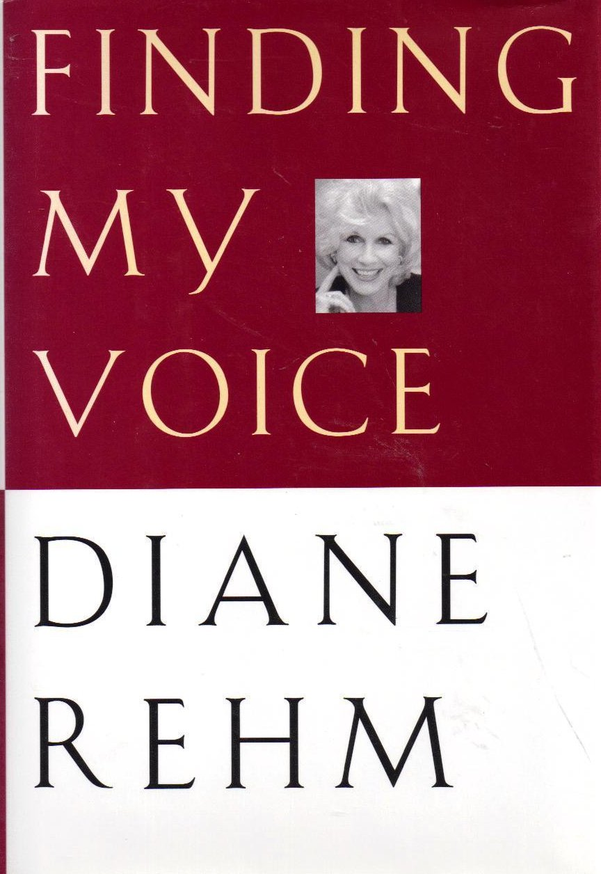 Finding My Voice by Diane Rehm HCDJ 1st Ed