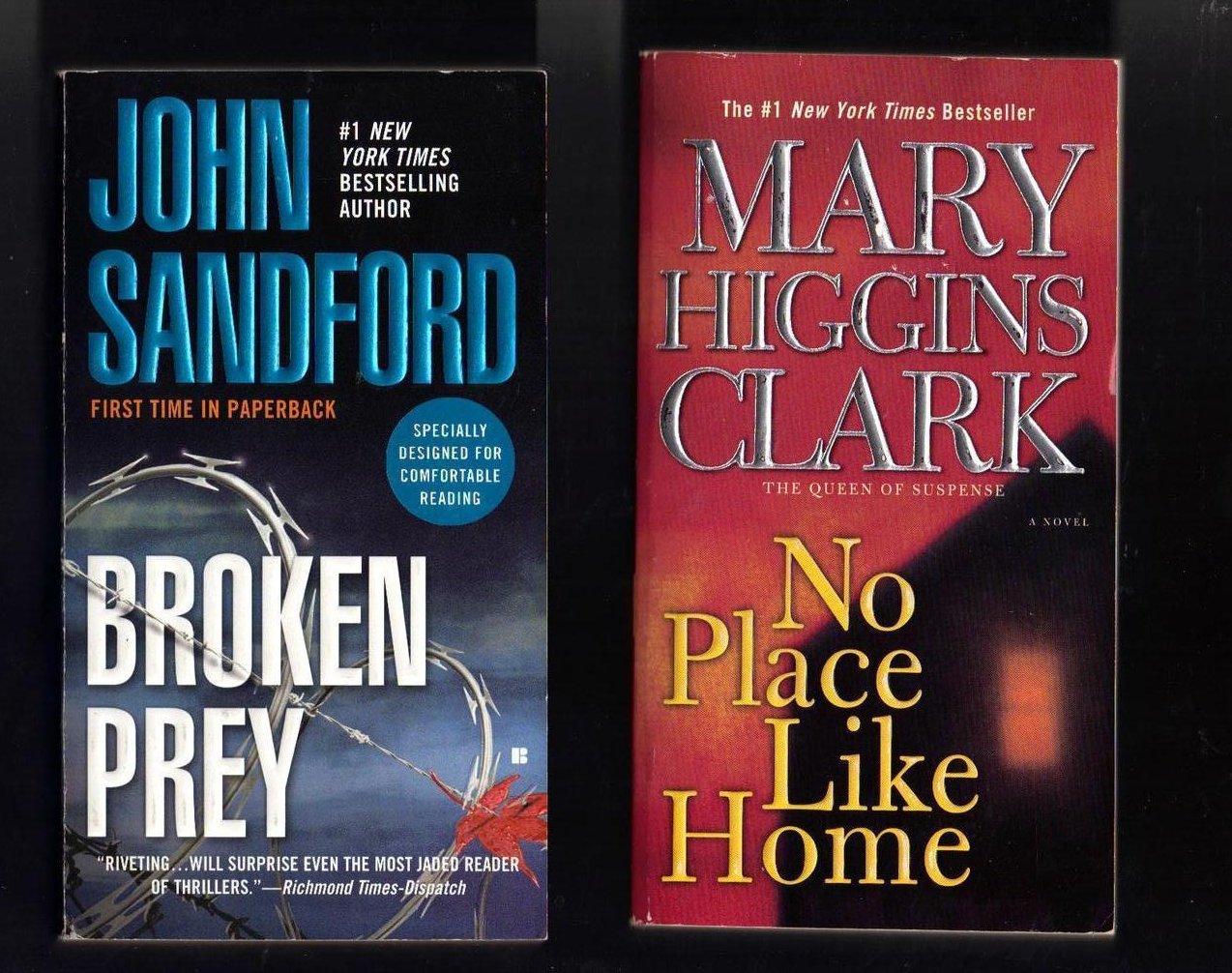 John Sandford and Mary Higgins Clark PB  Lot of 2 Books