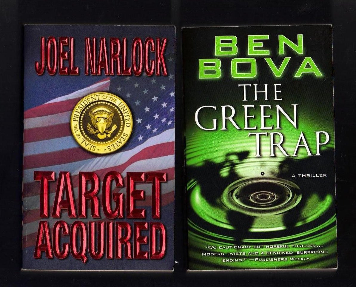 Joel Narlock and Ben Bova PB Lot of 2 Books