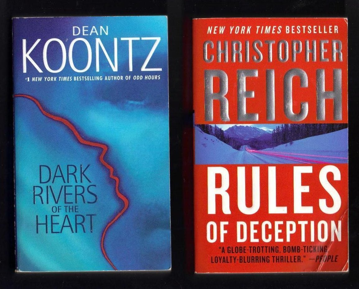 Image 0 of Dean Koontz and Christopher Reich PB Lot of 2 Books