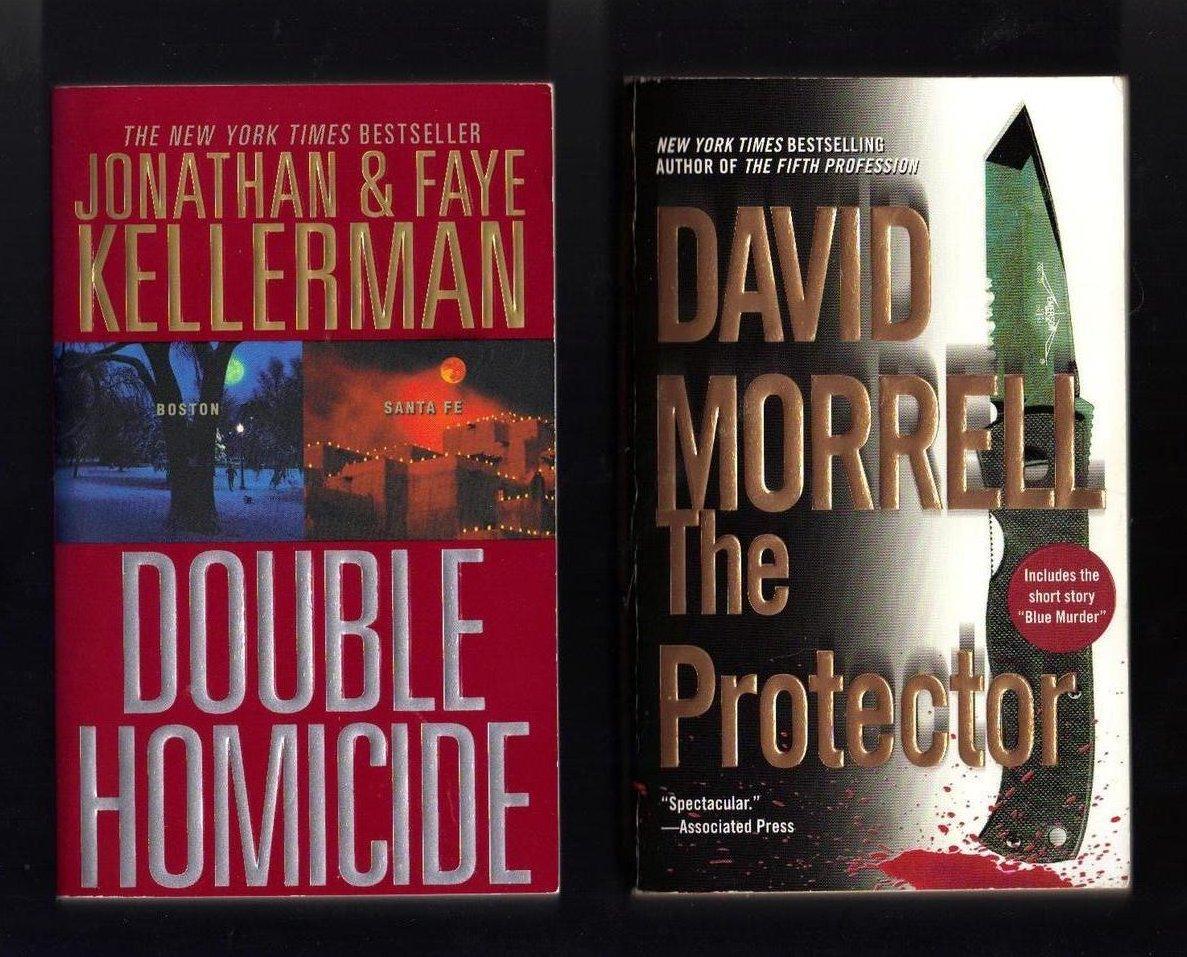 Jonathan And Faye Kellerman and David Morrell PB Lot of 2 Books