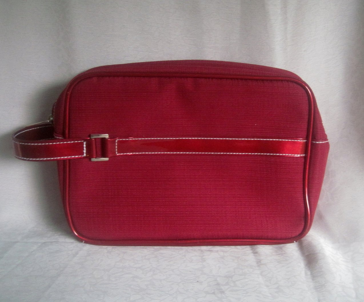 Image 3 of Estee Lauder Red Cosmetic Makeup Bag