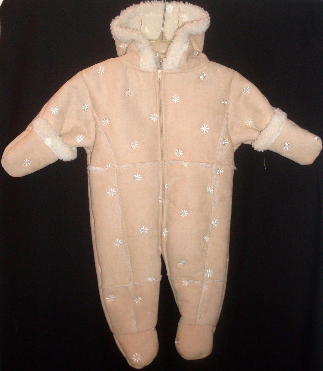 Lullababy Pram Suit Infant Girl 0-3 Month Fawn