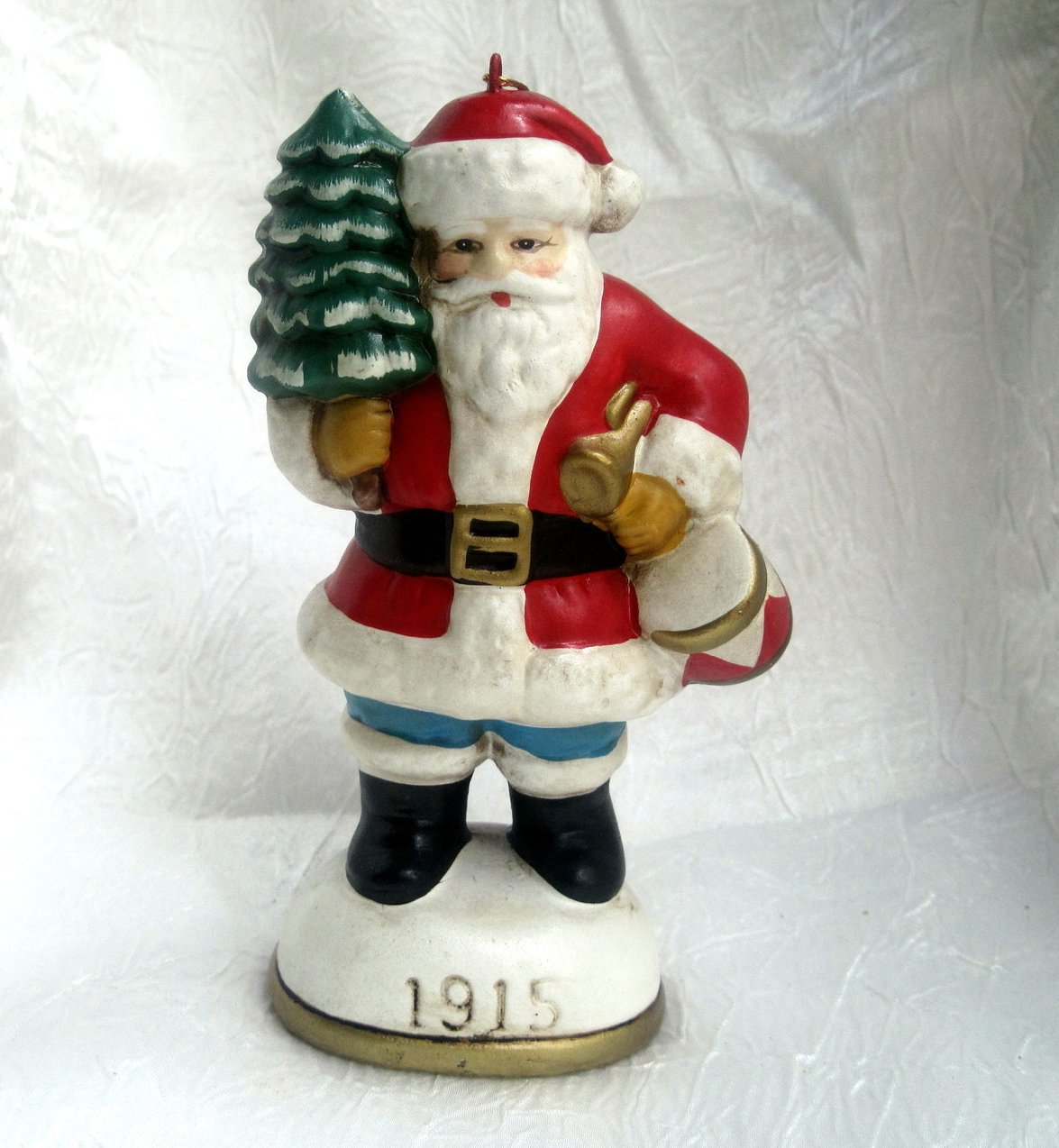 Christmas Eve Inc Santa Claus Figurine Ornament 1915