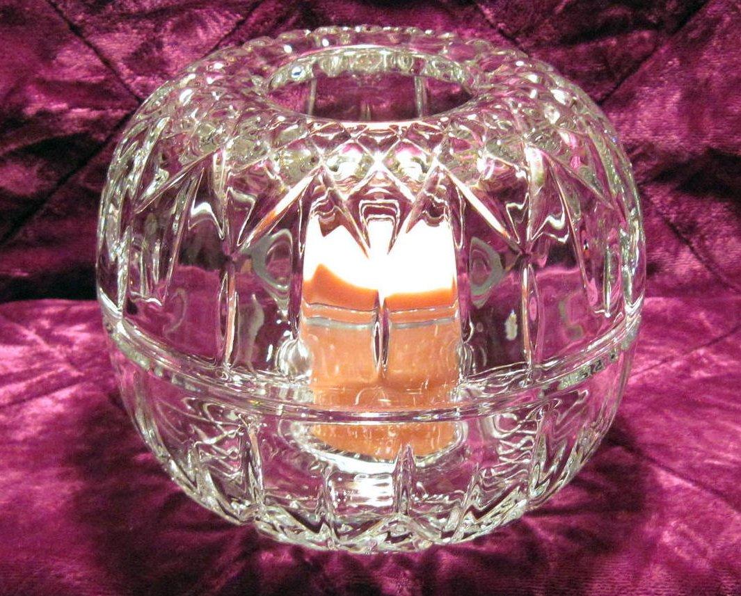 Image 4 of Diamond Cut Homco Fairy Lamp Light Candle Holder 1189