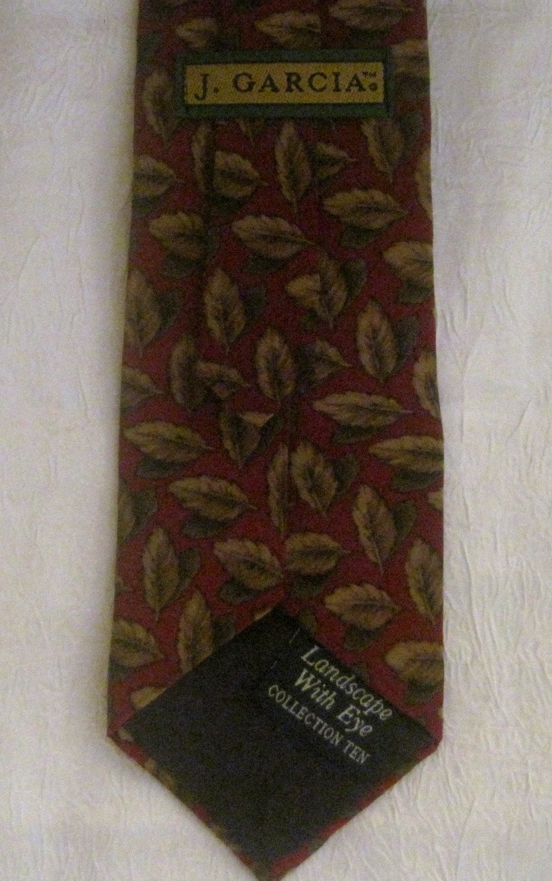 Image 2 of Jerry Garcia Collection 10 Landscape With Eye Necktie Tie