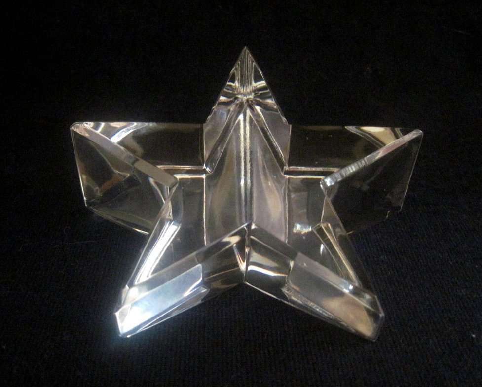 Optical Crystal Star Paperweight Elegant Cut Nordstrom