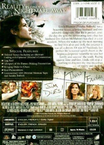 '.Premonition Sandra Bullock DVD.'